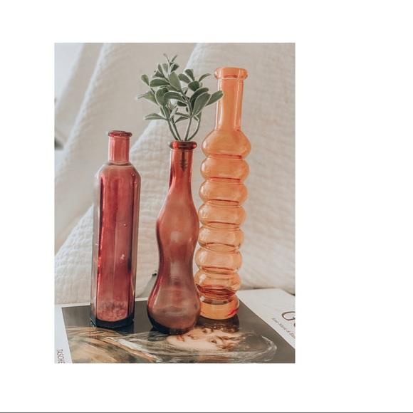 Art Deco mini vases - set of 3